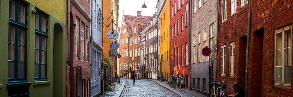 Magstræde, eine der ältesten Straßen in Kopenhagen