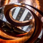 Die spektakuläre Treppe im Wissenschaftsmuseum Experimentarium