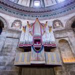 Die Orgel der Frederikskirche in Kopenhagen