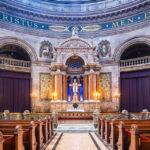 Innenansicht der Frederikskirche in Kopenhagen