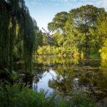 Parklandschaft auf dem Gelände des Kastell von Kopenhagen