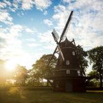 Windmühle auf dem Gelände des Kastell von Kopenhagen
