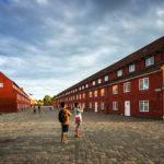 Rote Baracken im Kastell von Kopenhagen