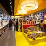 Innenansicht des LEGO-Shops in Kopenhagen