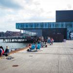 Entspannen am Ofelia Plads in Kopenhagen