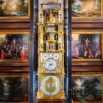 Die Astronomische Uhr mit Glockenspiel und beweglichen Figuren von 1594 von Isaac Habrecht im Schloss Rosenborg