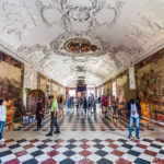 Der Rittersaal im Schloss Rosenborg in Kopenhagen