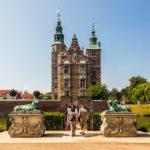 Außenansicht des Schloss Rosenborg in Kopenhagen