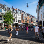 Die Einkaufsstraße Strøget in Kopenhagen