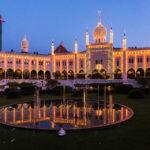 Indischer Palast im Vergnügungspark Tivoli