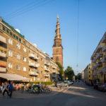 Die Erlöserkirche (Vor Frelsers Kirke) in Kopenhagen