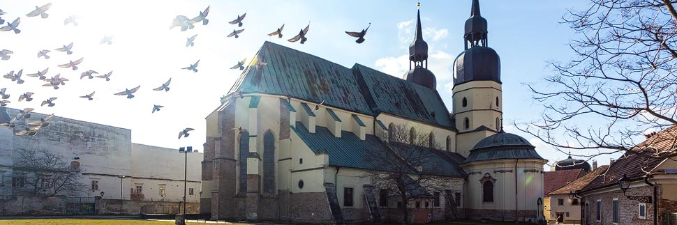 Der Nikolausdom (Bazilika sv. Mikuláša) von Trnava