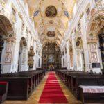 Innenansicht der Kathedrale des heiligen Johannes des Täufers
