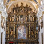 Holzaltar von 1640 in der Kathedrale des heiligen Johannes des Täufers
