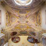 Decke einer Seitenkapelle in der Kathedrale des heiligen Johannes des Täufers