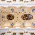Die Decke der Kathedrale des heiligen Johannes des Täufers