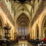 Innenansicht des Nikolausdom (Bazilika sv. Mikuláša)