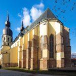 Außenansicht des Nikolausdom (Bazilika sv. Mikuláša)