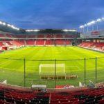 Panorama der City Arena (Štadión Antona Malatinského)