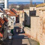 Die Stadtbefestigung (Stadtmauer) von Trnava