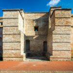 Detail der Stadtbefestigung (Stadtmauer) von Trnava