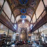Innenansicht des Synagoga Café in Trnava