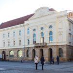 Außenansicht des Theaters in Trnava
