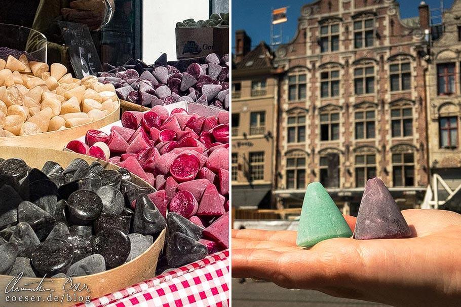 Genter Nasen in der belgischen Stadt Gent
