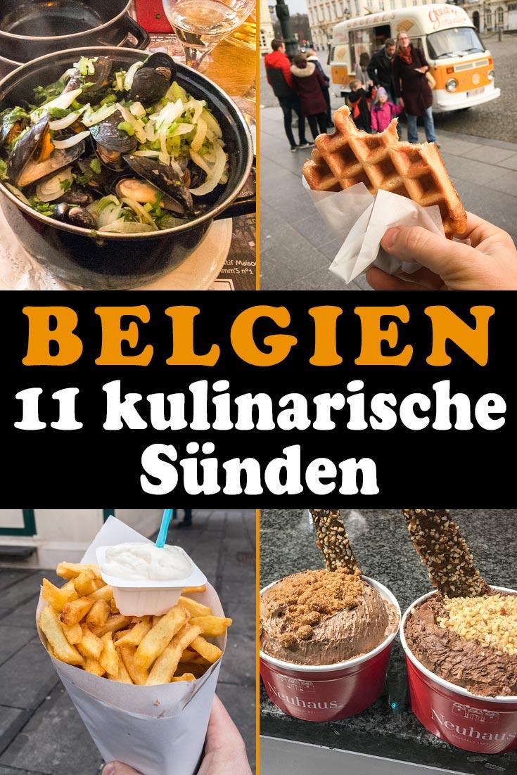 Essen in Belgien: 11 kulinarische Sünden mit Infos zu den Nationalgerichten Moules-frites, Pommes Frites, belgischer Schokolade, Bier, Waffeln und mehr!