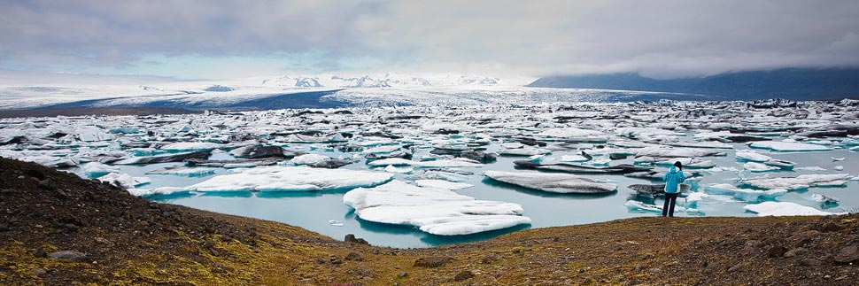 Gletschersee Jökulsarlon in Island
