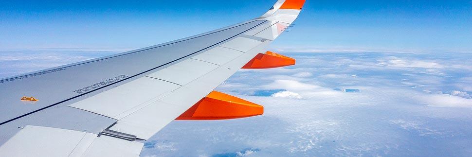 Anreise nach London per Flugzeug