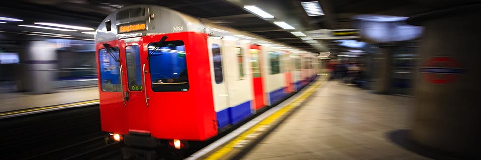 Die Tube (Subway) in London