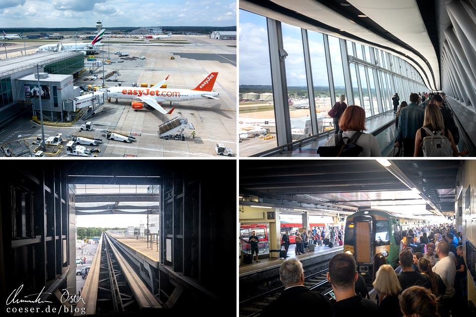 Fotos vom Flughafen London Gatwick