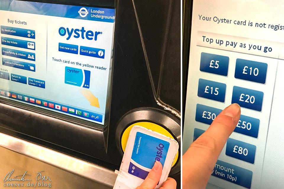 So funktioniert die Oyster Card in London