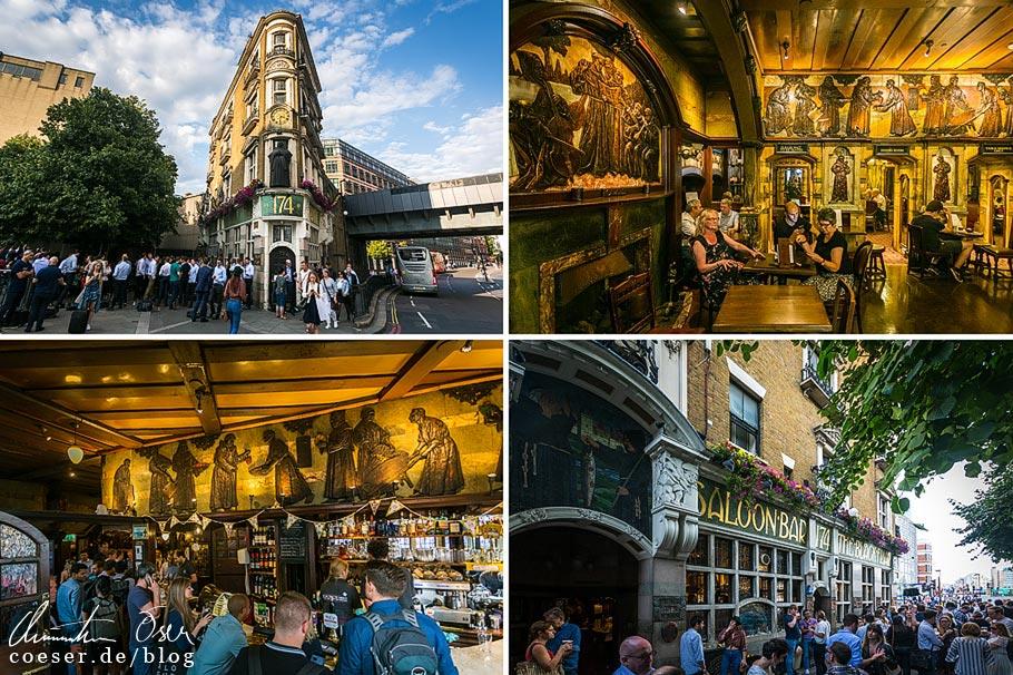 Das Pub The Blackfriar in London