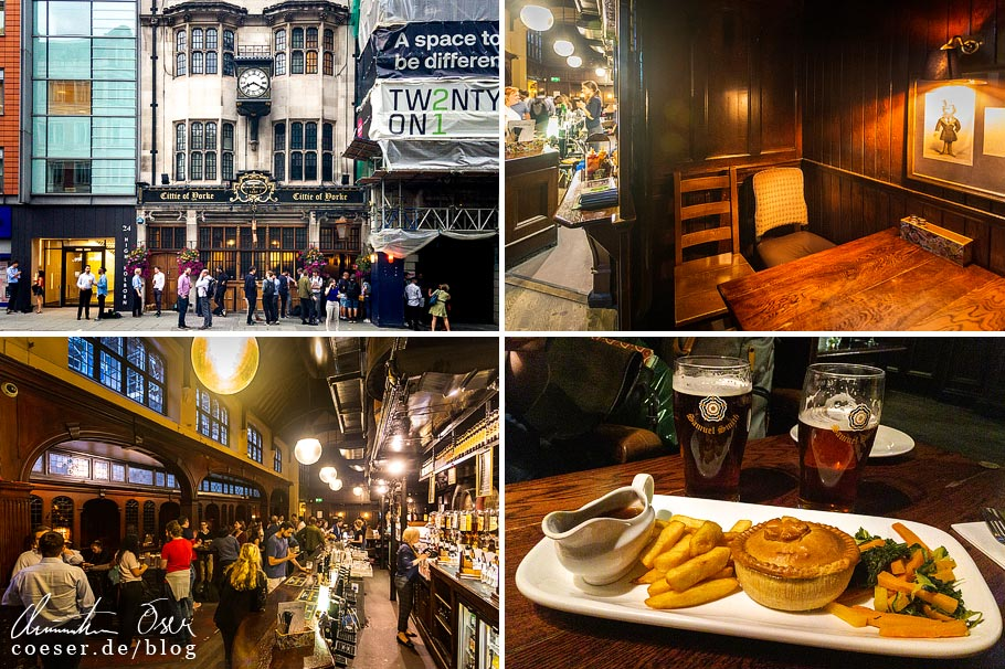 Das Pub Cittie of Yorke in London
