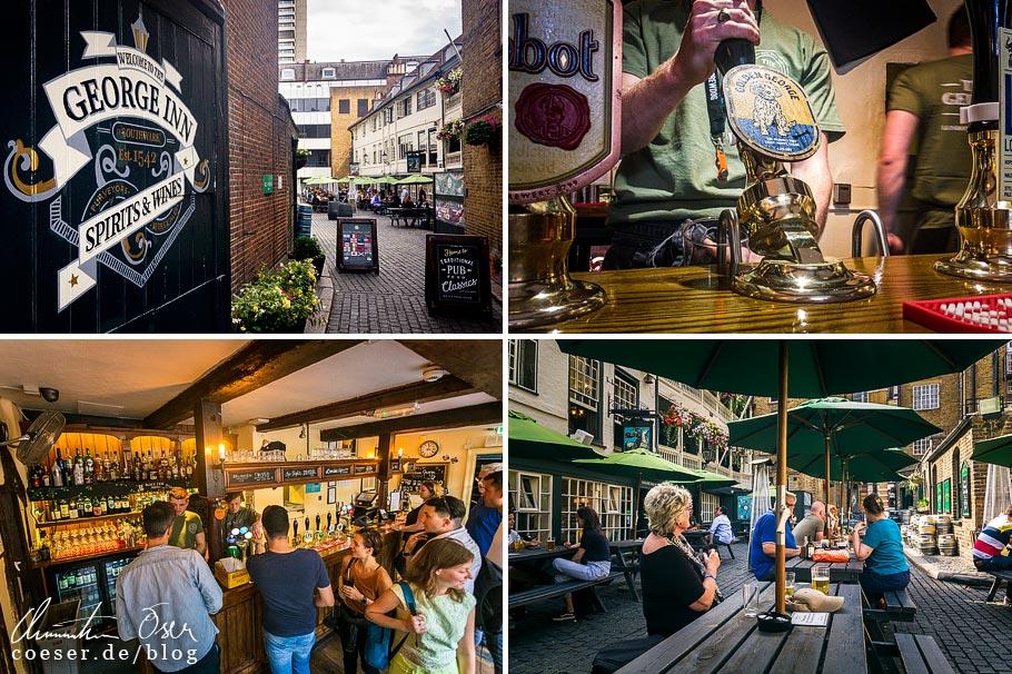 Das Pub The George Inn in London