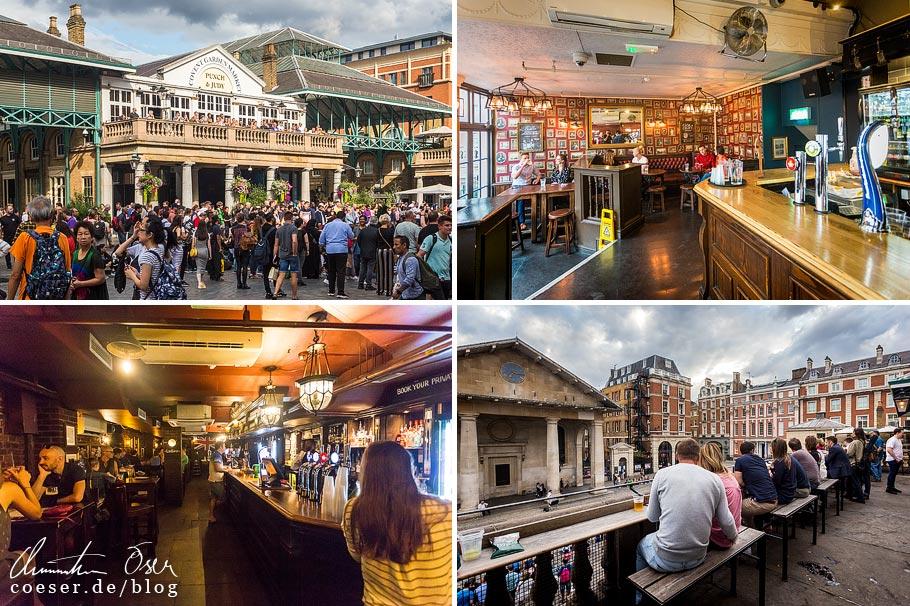 Das Pub Punch & Judy in London