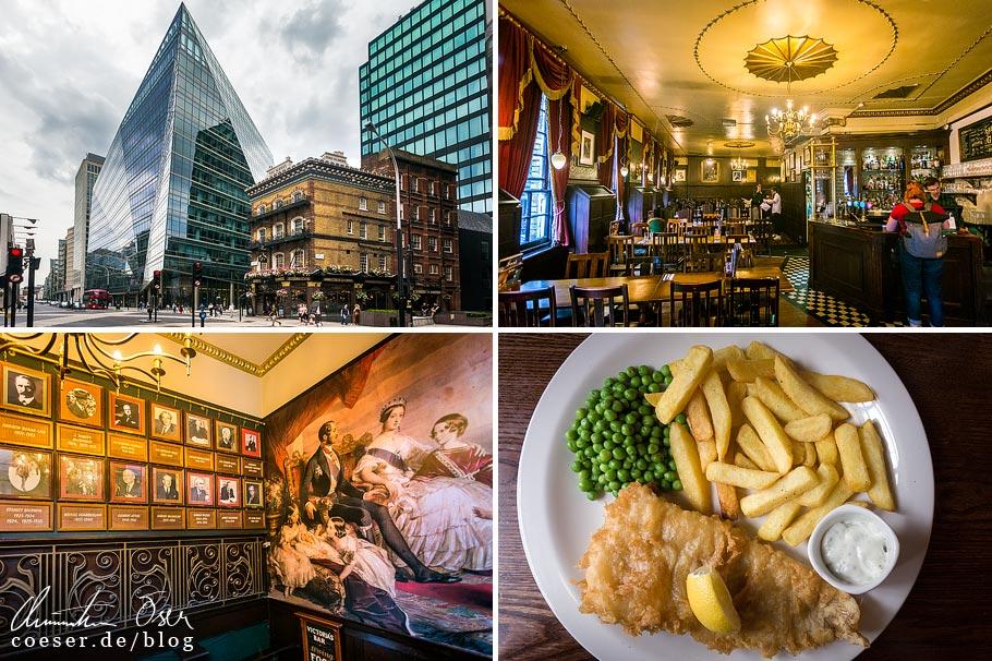 Das Pub The Albert in London