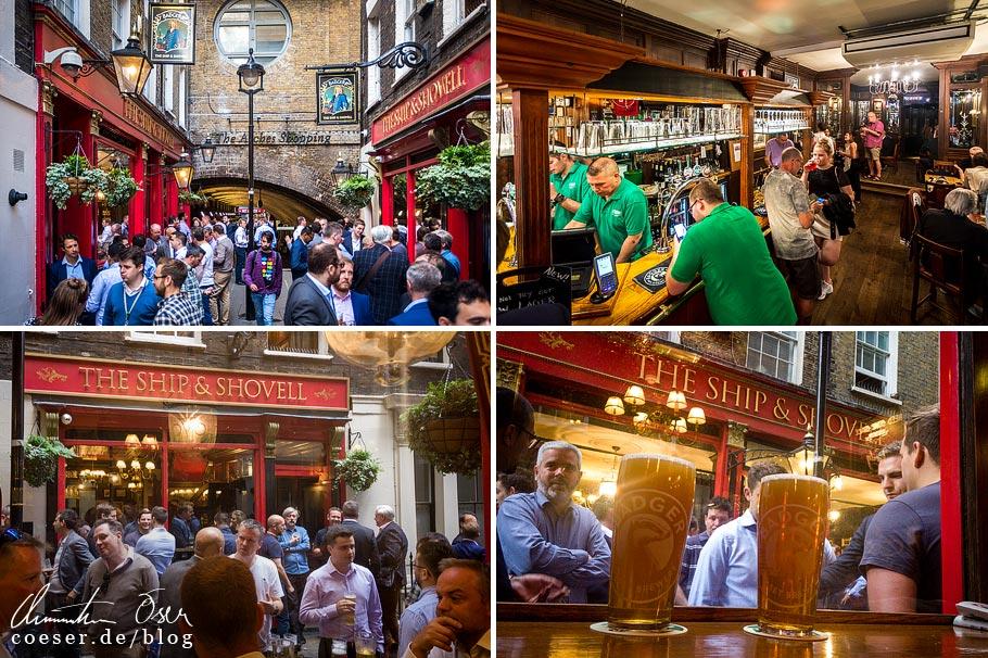 Das Pub The Ship & Shovell in London