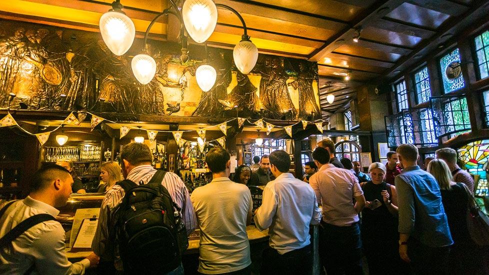 Pub The Blackfriar in London