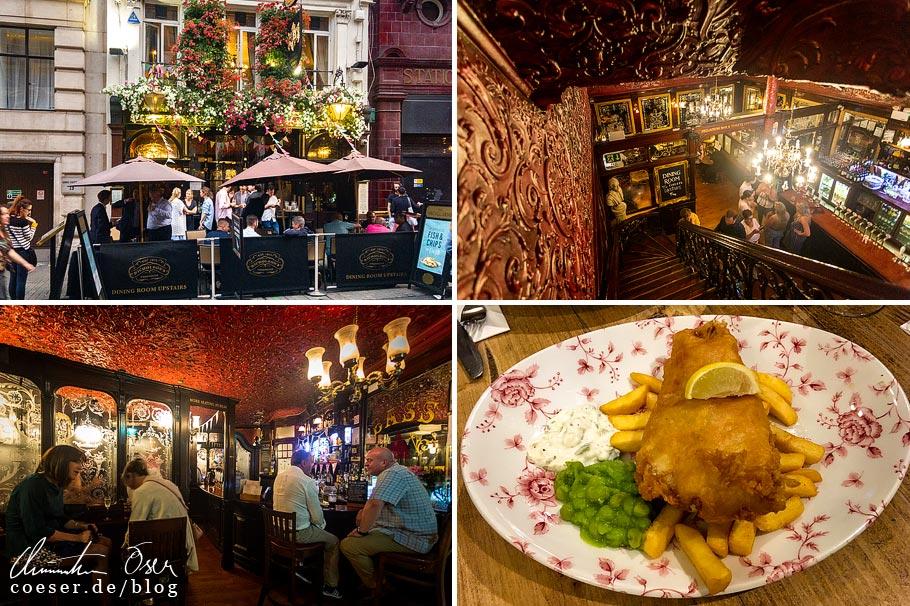 Das Pub The Argyll Arms in London