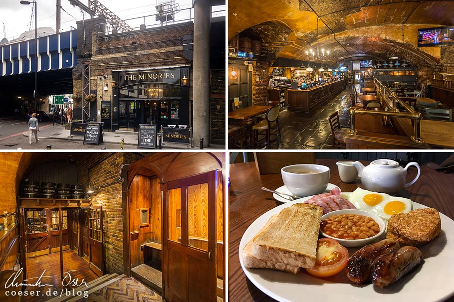Das Pub The Minories in London