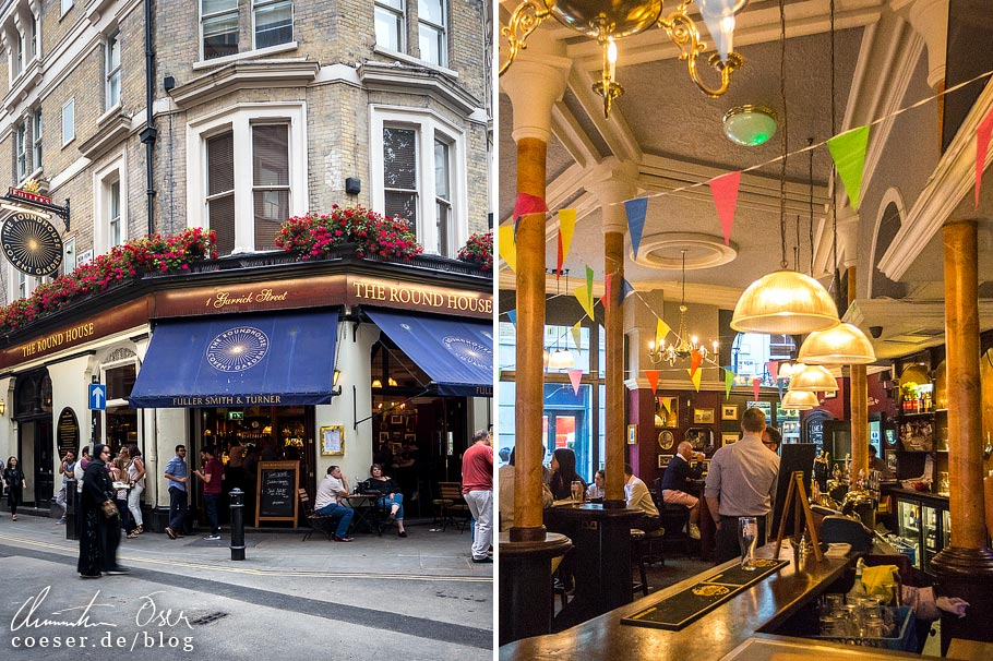 Das Pub The Round House in London