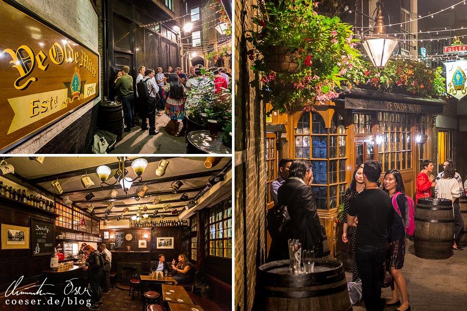 Das Pub Ye Olde Mitre in London