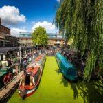 Regent's Canal am Camden Market in London