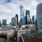 Aussicht vom Monument auf London