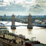 Aussicht vom Monument auf die Tower Bridge