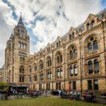 Außenansicht des Natural History Museum in London