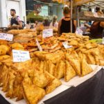 Street Food am Portobello Road Market in Notting Hill